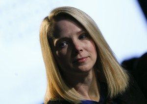 File photo of Marissa Mayer in Davos