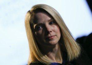 File photo of Marissa Mayer in Davos