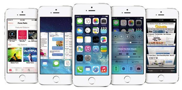 Así luce el iOS7, que será liberado el 20 de septiembre.