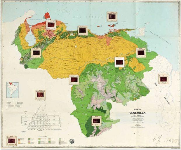 Claudio Perna, República de Venezuela-Mapa ecológico. 1975_bueno