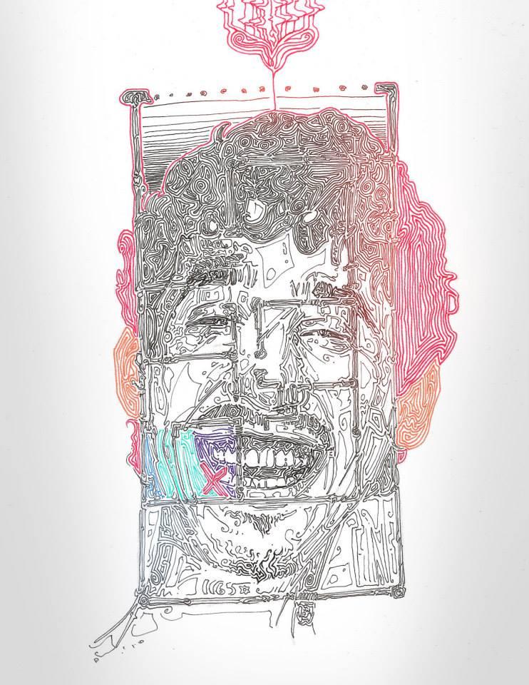 """Ricardo Santos, """"Continente 3"""", 2013"""