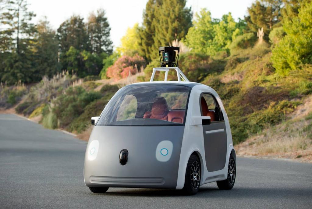 El auto autónomo de Google.