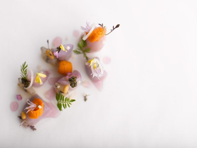Aubergine picture, uno de los sofisticados platos de André