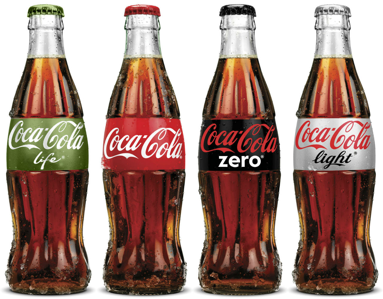 Variedad de productos Coca-Cola