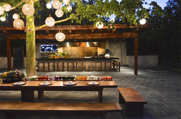 Foto: Rosewood Hotels & Resorts. La Ceiba ayan Garden & Kitchen.