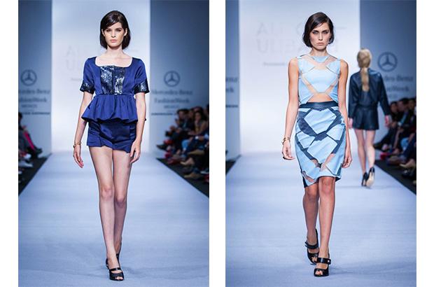 Foto: Mercedes Benz Fashion Week. Alexia Ulibarri colección primavera-verano 2015.