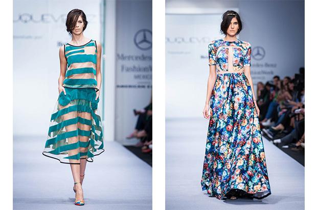 Foto: Mercedes Benz Fashion Week. Jorge Duque, colección primavera-verano 2015.