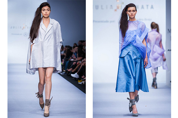 Foto: Mercedes Benz Fashion Week. Julia y Renata, colección primavera-verano 2015.