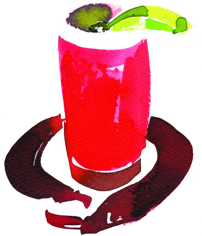Bloody Mary de St Regis Mexico City