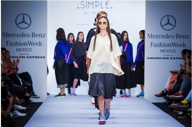 Foto: Mercedes Benz Fashion Week México. Simple By Trista.
