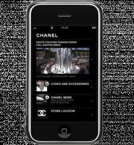 La app de Chanel ofrece la información de búsqueda más solicitada