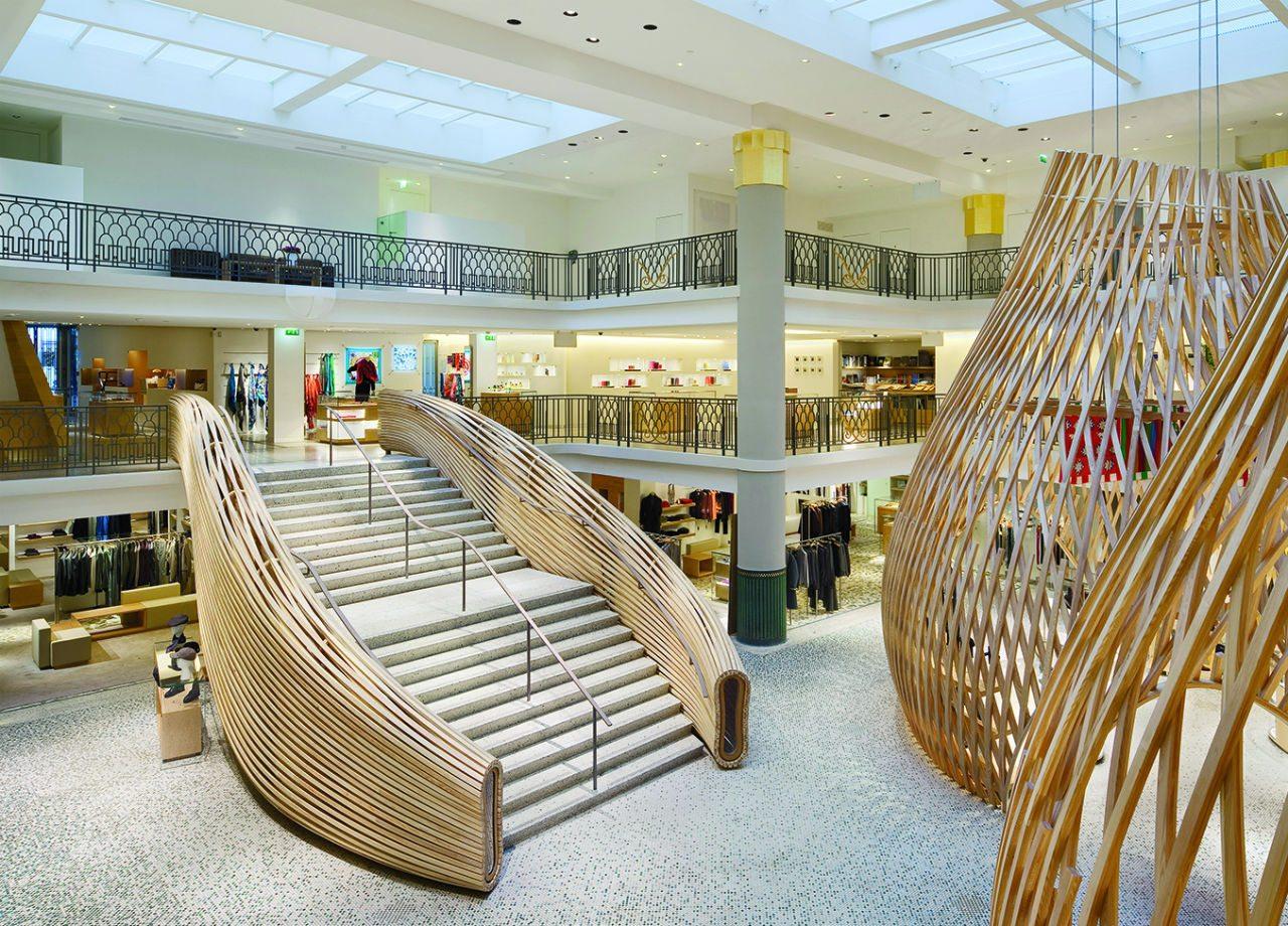 En 2010 abrió la tienda Hermès en Pive Gauche, en París diseñado por RDAI.
