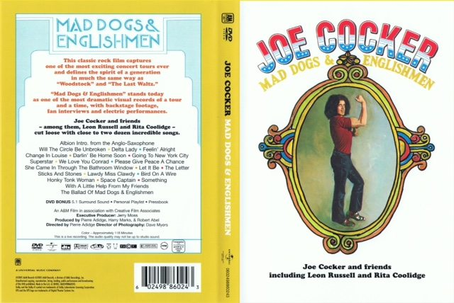 Joe Cocker - Mad dog & englishmen (Portada)