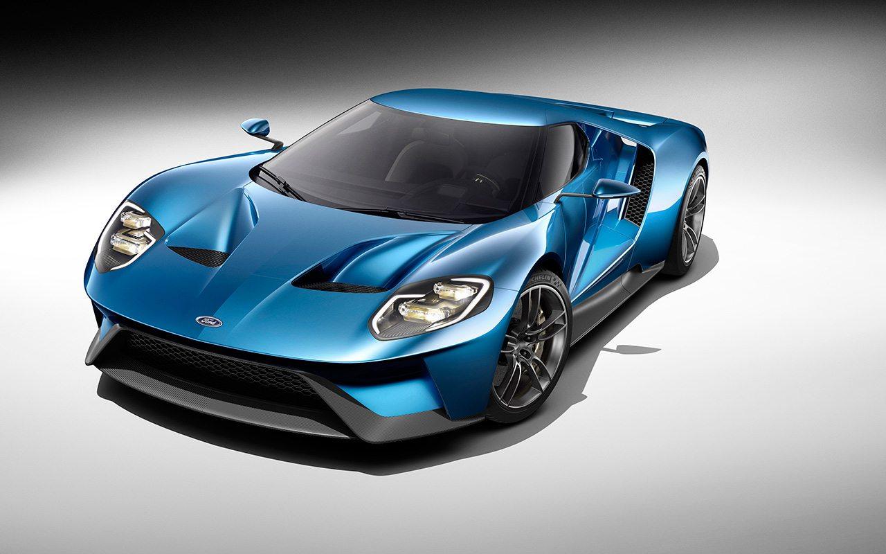 El Ford GT 2015 tiene un motor de 600 caballos de fuerza. Foto: Cortesía de Ford.