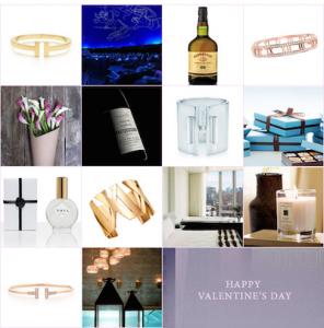 Calendario Tiffany San Valentín