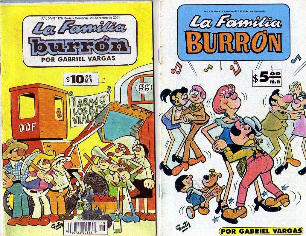 Familia Burrou0301n-Portada revista