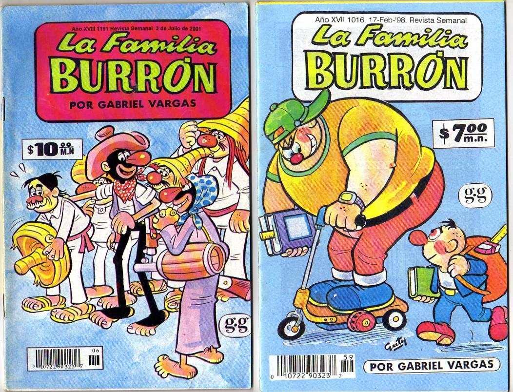 Familia Burrou0301n-Portada revista5