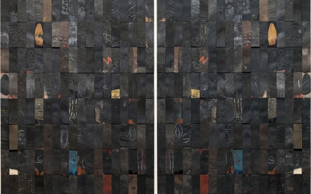 Foto: Obra de Gabriel de la Mora exhibida en Zona Maco 2015.