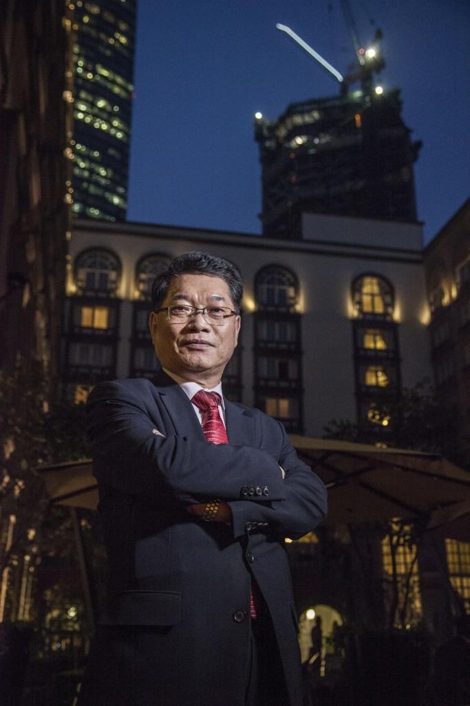 Seong Bae Kim, presidente de la automotriz en el país. Foto: Julio Hernández.