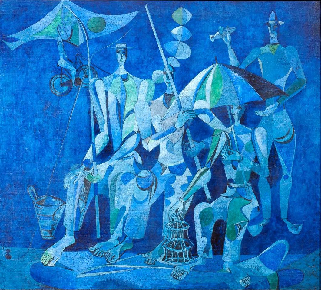 Heinrich Campendonk 1889-1957. Galería Alon Zakaim (Foto: vía Carmen Reviriego).