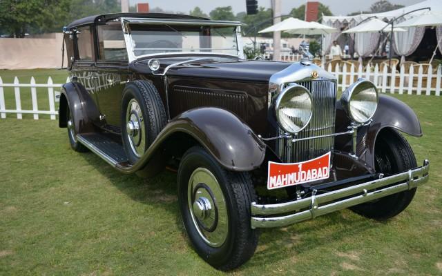 """El mejor auto de """"Travel with Style"""". Minerva AL 40Hp 1933 deDiljeet Titus. Foto  de Eric Bidou, cortesía Cartier."""