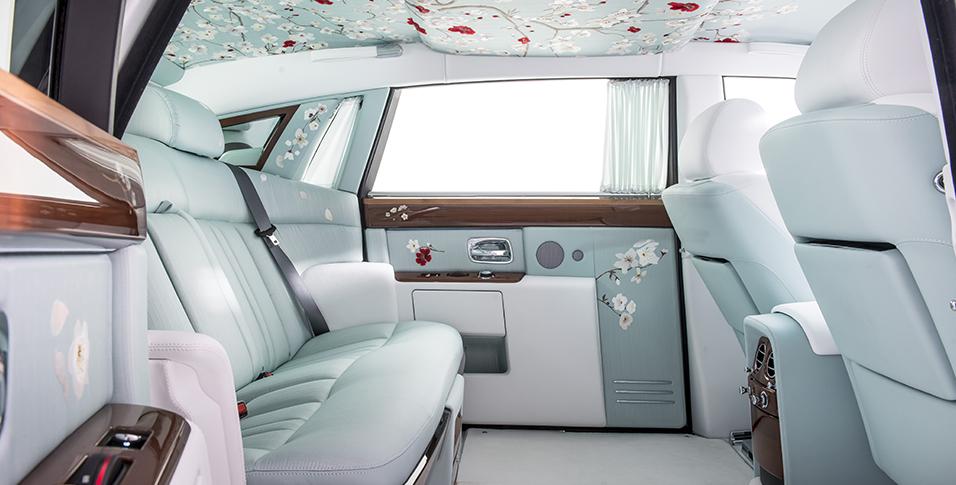 Interior del Rolls-Royce Serenity