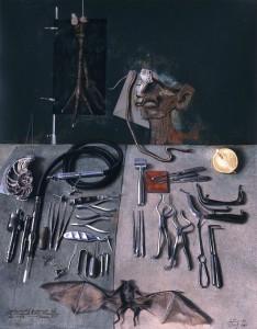 'El instrumental quirúrgico del doctor'