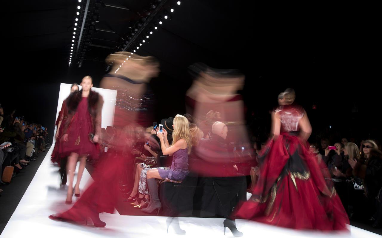 Pasarela de moda (Foto: Reuters)