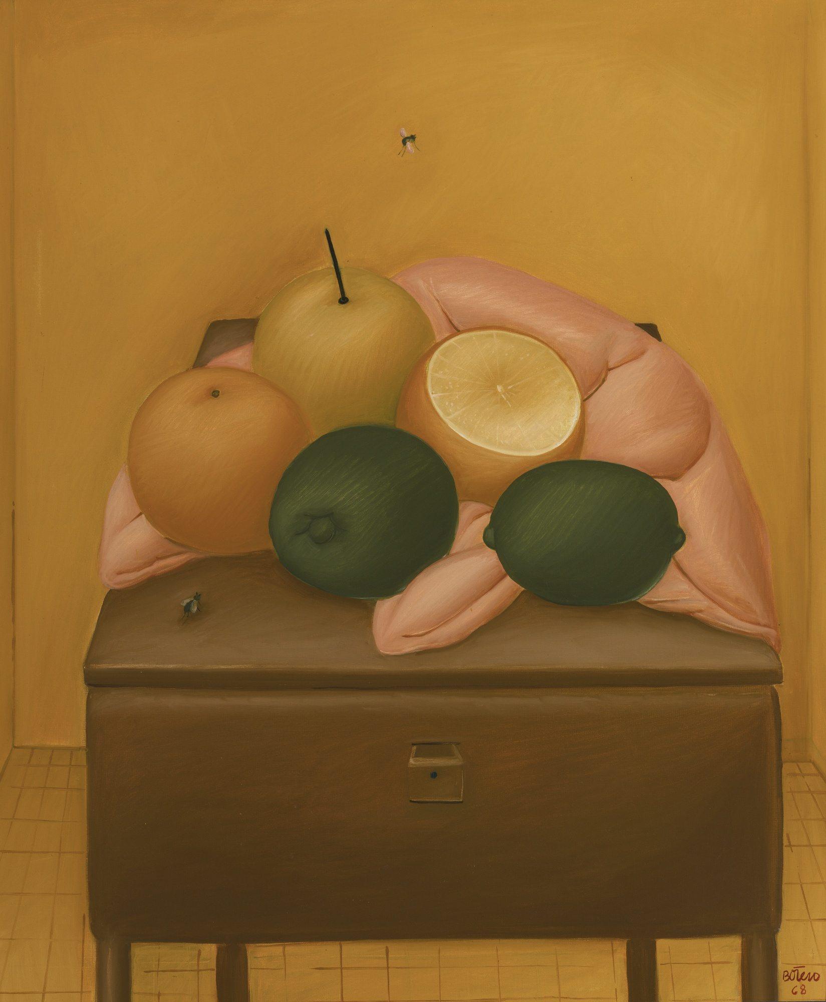 Fernando Botero, Naranjas y Limones