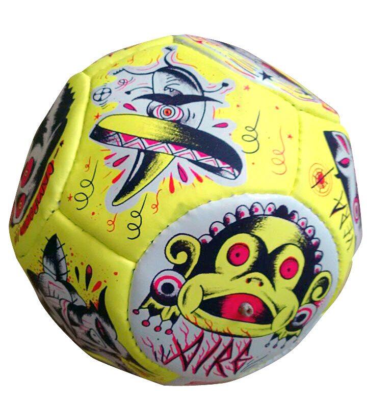 Artist Chanok soccerball balloon