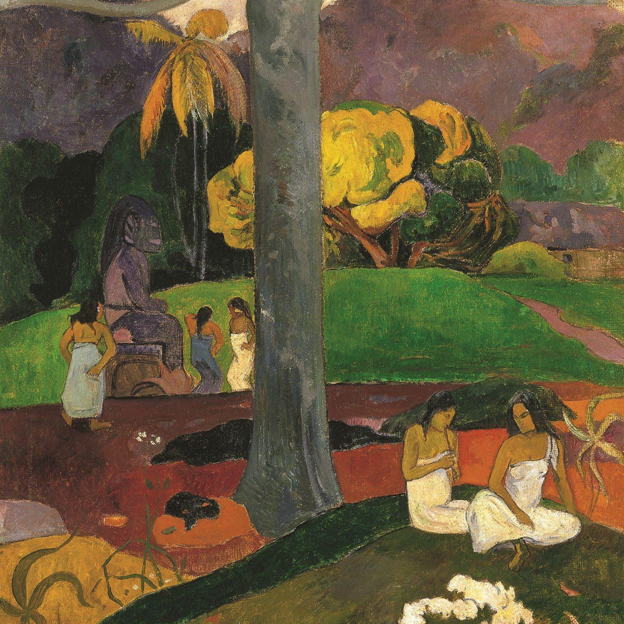 Joyas de la colección Paul Gauguin, Mata Mua 1891.