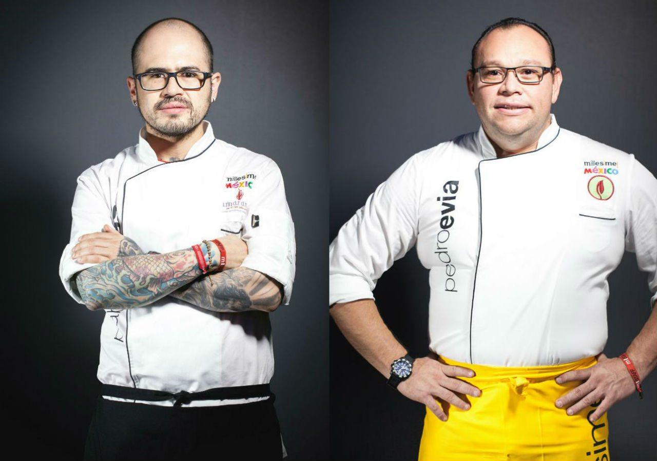 Pablo Salas y Pedro Evia