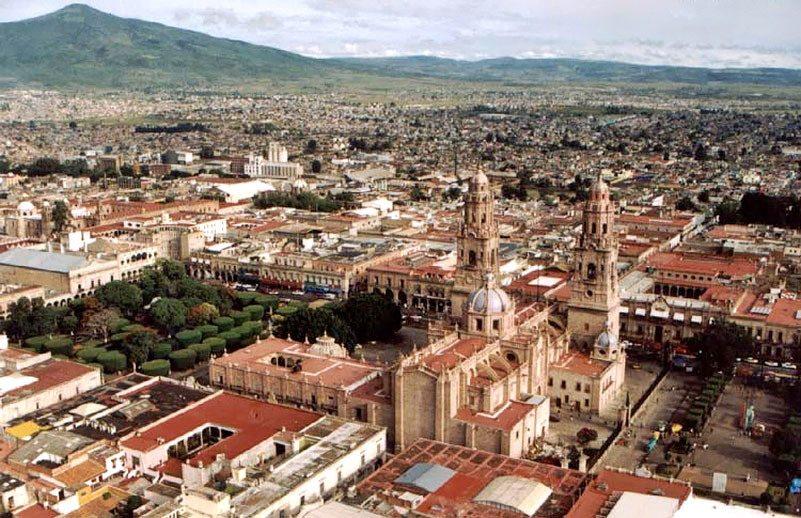 Vista panorámica de Morelia.