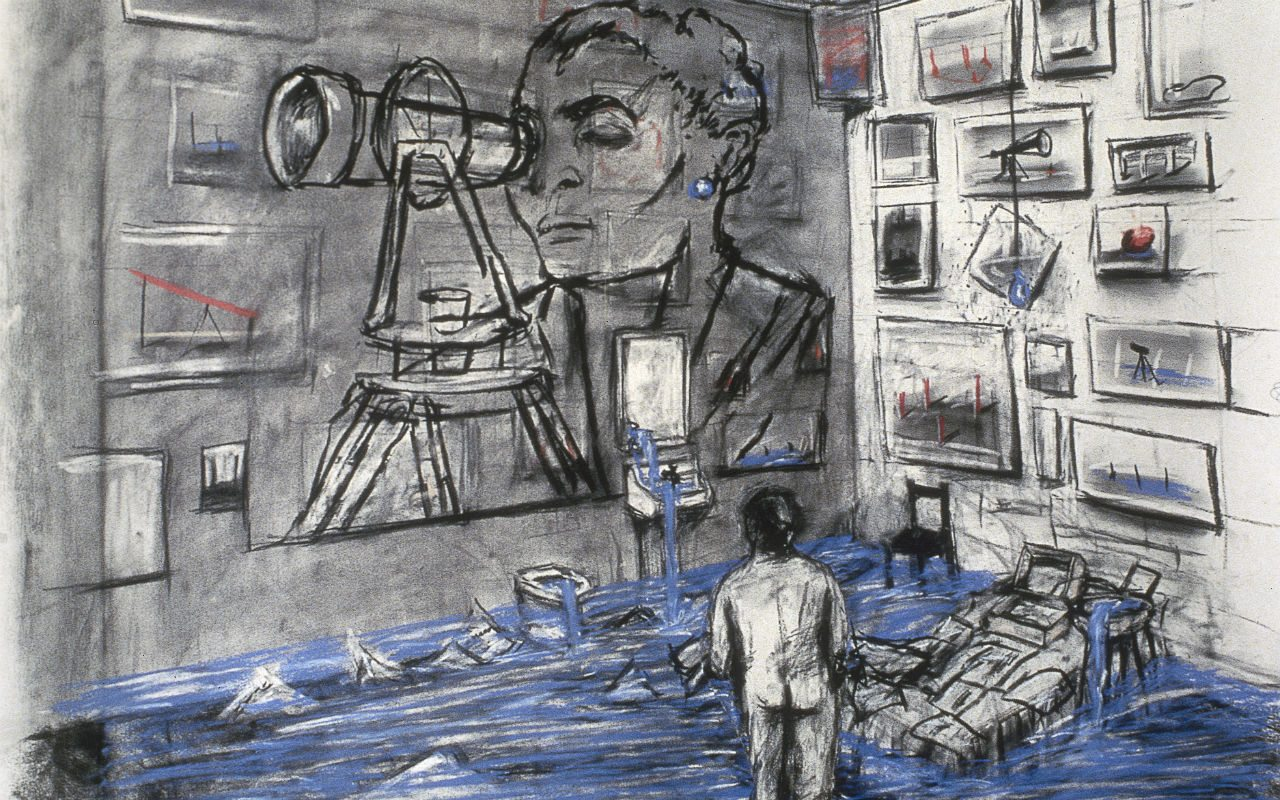 03b_William Kentridge_ Félix en el exilio
