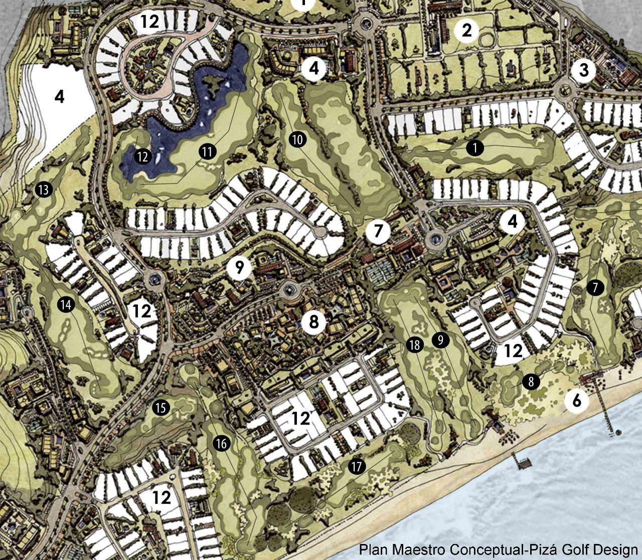 Plan Maestro Conceptual-Pizá Golf Design-2