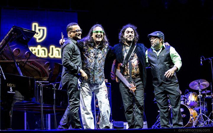Volcánicos del jazz latino. (Foto: David Morresi)