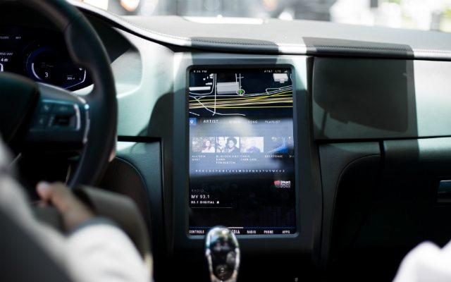 Demostración de uso de la tecnología de Snapdragon en autos.
