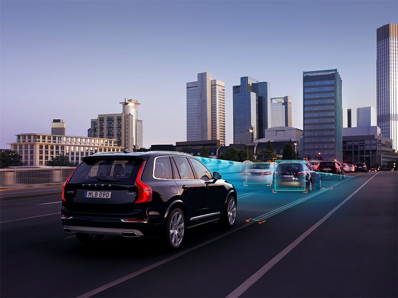 The all-new Volvo XC90 - ACC with Queue Assist