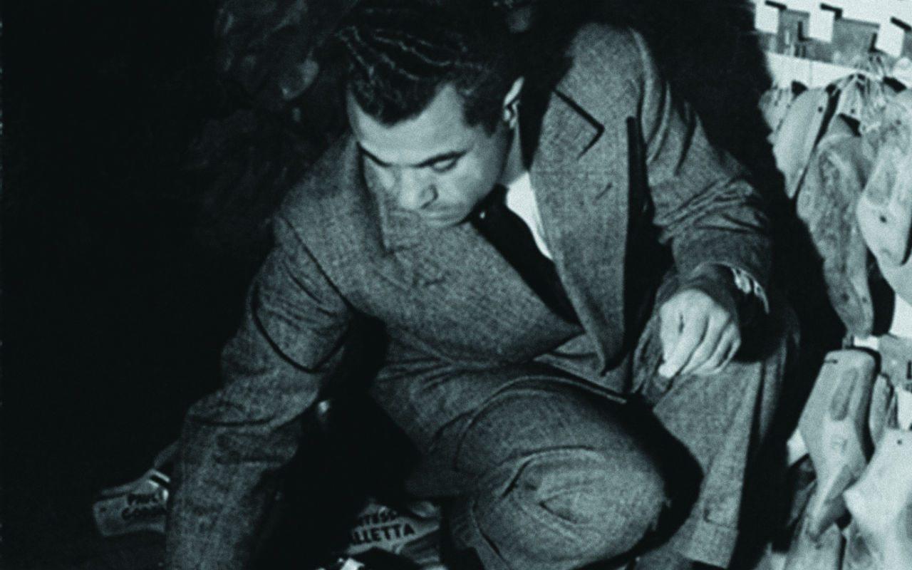 En la foto: Salvatore Ferragamo.