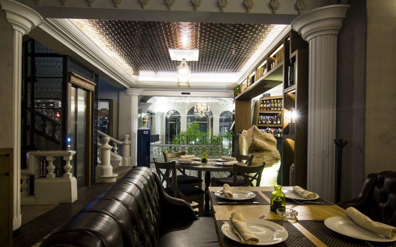 Sylvestre Asador Mexicano Restaurante Interiores 16