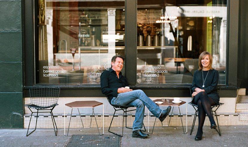 Brian Turko y Linda Turko, propietarios de Milano
