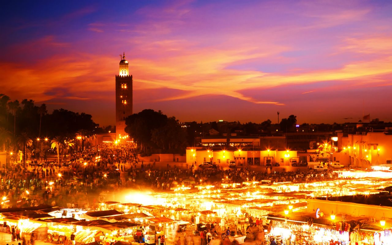 Shutterstock, Morocco sede 2014 de  The Global Wellnes Summit.