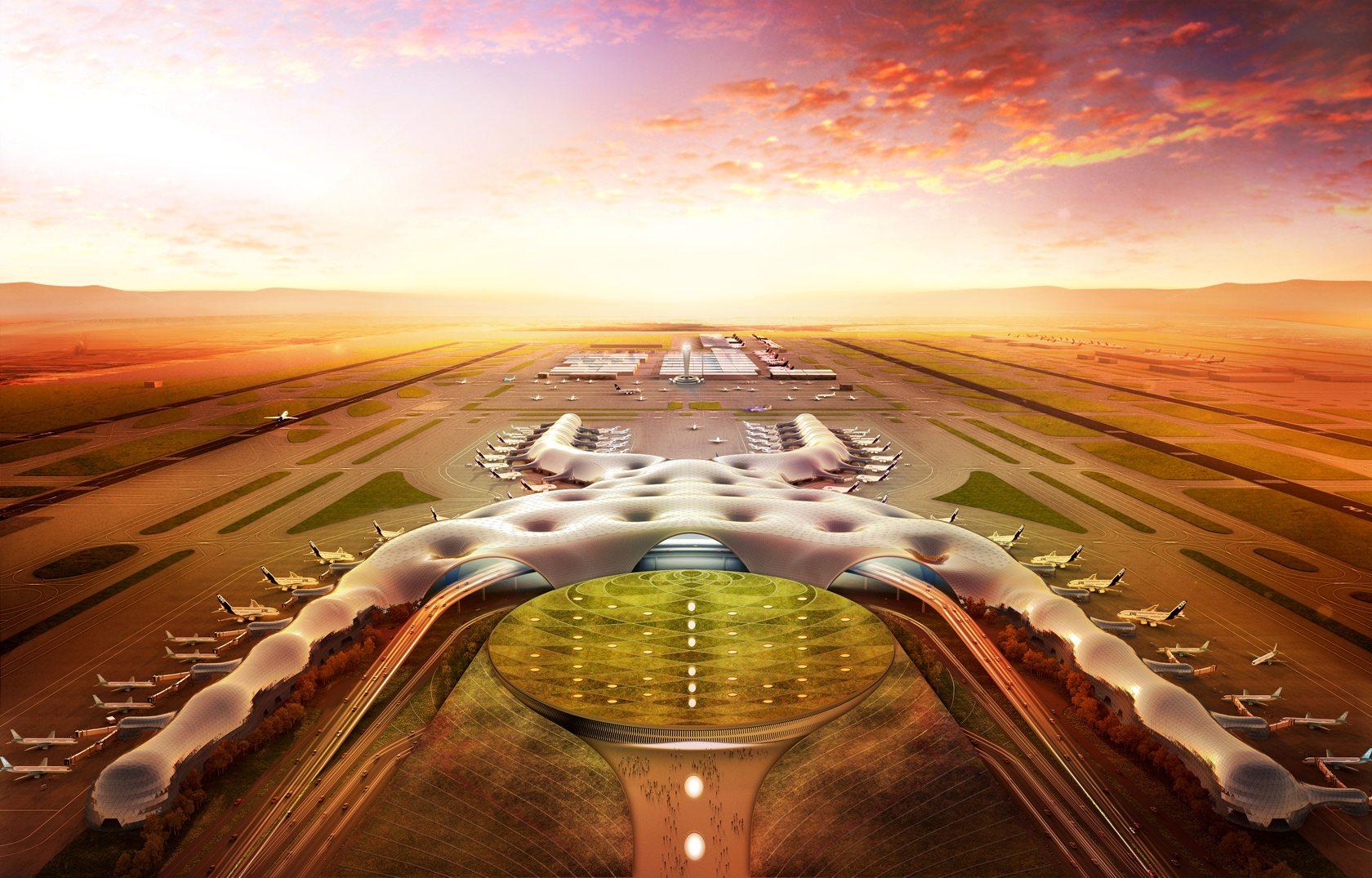 Proyecto del nuevo aeropuerto de la Ciudad de México