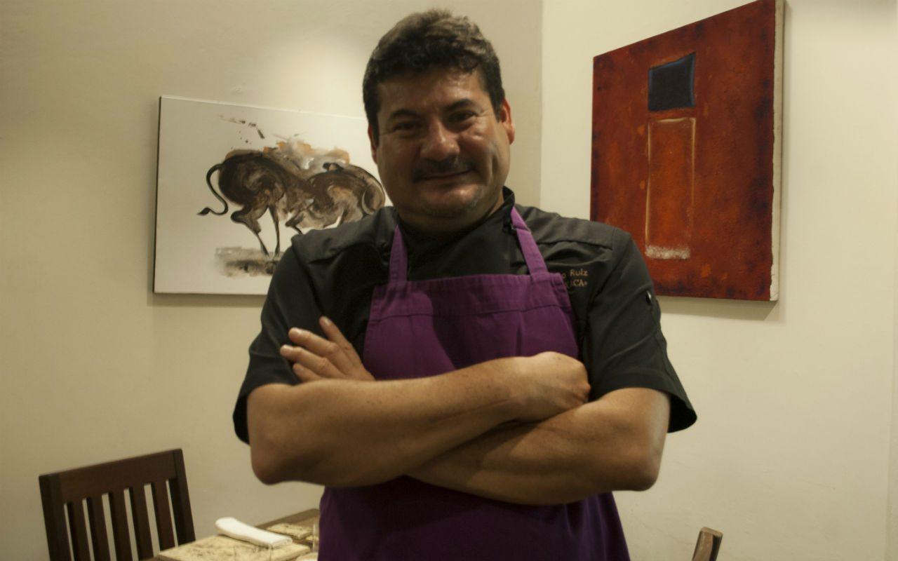 Chef Alex Ruiz. (Foto: Raquel del Castillo)