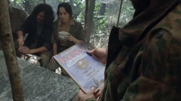Secuestradores del M-19 viendo en Forbes a los narcotraficantes billonarios.