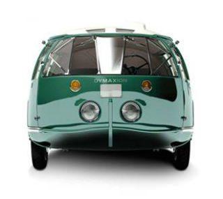 Camioneta futurista de Buckminster.