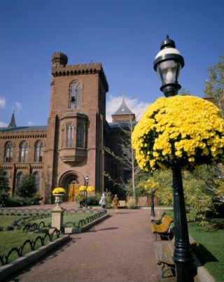 Smithsonian Castle.