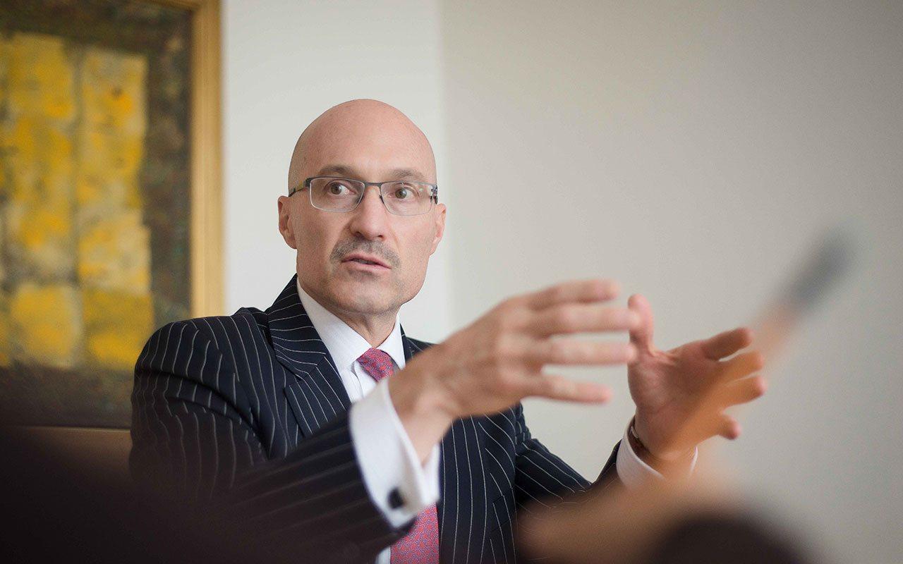 Robert Rozek, CFO de Korn Ferry
