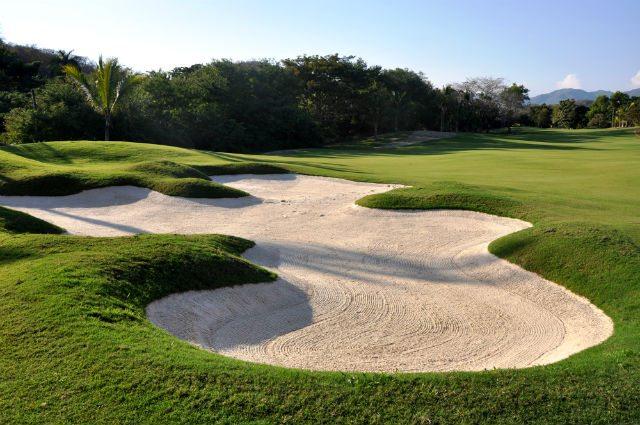 Las Parotas Club de Golf, hoyo 2.