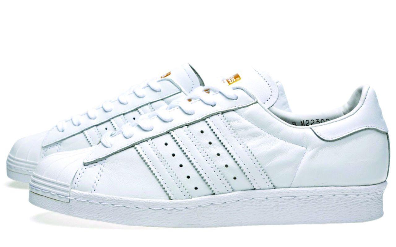 2 Adidas Blancos